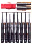Universal 10-in-1 screwdriver set