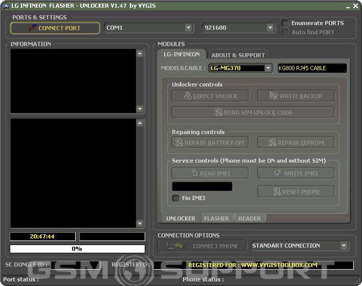 lg u970 software