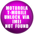 Remote unlock Motorola by IMEI T-Mobile US (NOT FOUND) - 1 special code