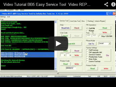 BB5 Easy Service tool sl3 repair superdongle