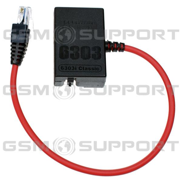 Nokia 6303ic 6303i classic 6303CI RM-638 UFS HWK JAF RJ45 cable.