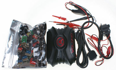 Volcano Box - connection cable - conneciton adapters 1.Multi-purpose 2.Motorola T191 earphone interface 3.Nokia N95 earphone interface