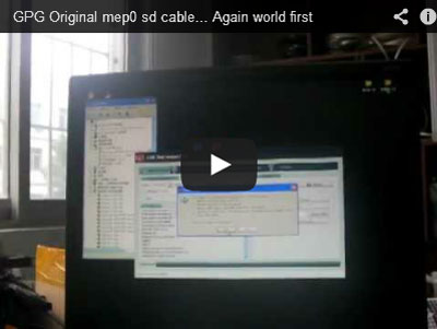 Kabel MEP0 BB GPG wideo