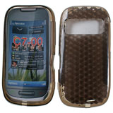 Silicon back case for Nokia C7