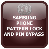 Pattern lock and pin bypass in Samsung phone