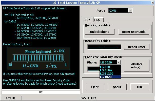 LG Total Service Tools 6 2 XP