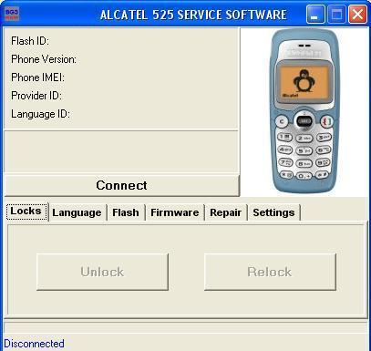 ALCATEL 8in1 software S2GSM ORIGINAL