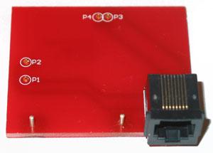 JTAG Adapter for Sagem X5-2, X55, X5-5, V55, SG341 PCB