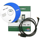 philips, 350, 355, usb, cable