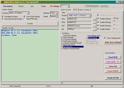 ufs 3 tornado hwk драйвер