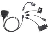 NOKIA Flashing cable set with four connectors