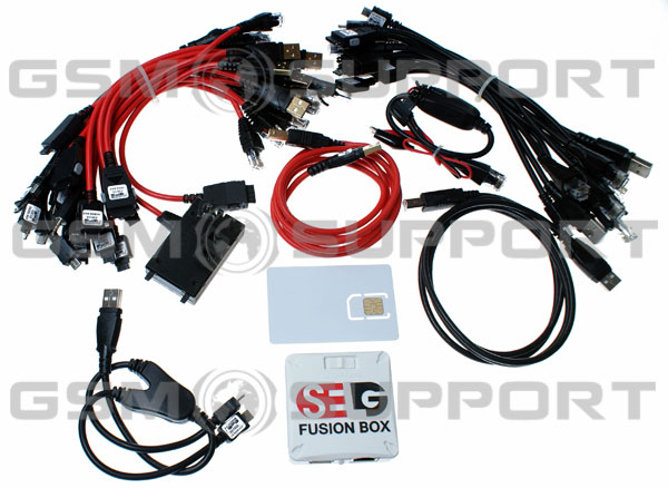 SE Tool Fusion Box with 37 cables and test card